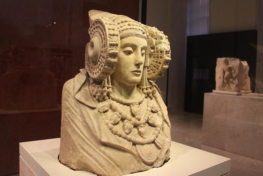スペイン国立考古学博物館 エルチェの貴婦人