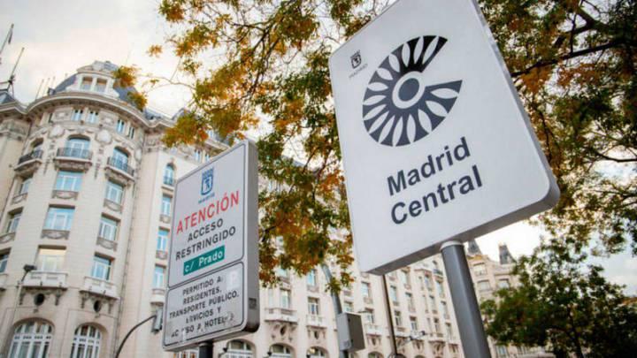 マドリード・セントラルの車両制限